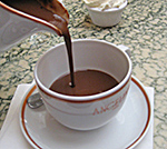 Angelinas chocolate cup