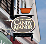 Candy Manor sign