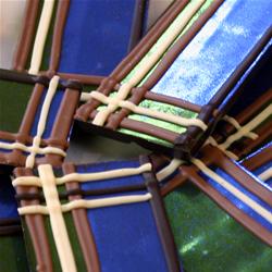 tartan chocolates