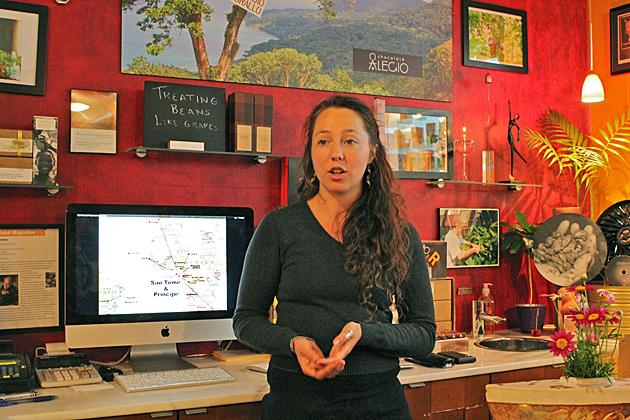 Petra Lamberson, Chocolate Ambassador