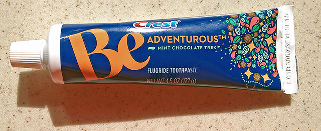 Be Adventurous Mint Chocolate Toothpaste
