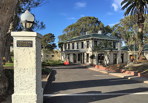 The Generals Residence at Fort Mason