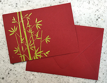 Jade Chocolates card