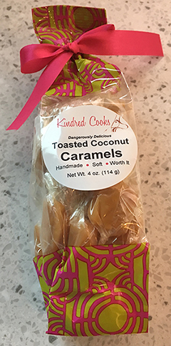 Kindred Cooks coconut caramels