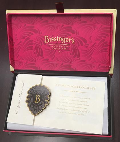 Bissinger open box