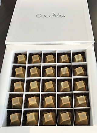 CocoVaa Hazelnut Macciato Caramels are gorgeous and delicious